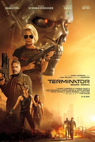Tickets for PREMIJERA: Terminator: Mračna sudbina, 31.10.2019 on the 20:00 at Centar Gervais