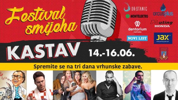Tickets for Festival smijeha: Peđa Bajović, Nesha Bridges, 15.06.2019 um 20:30 at Trg Crekvina