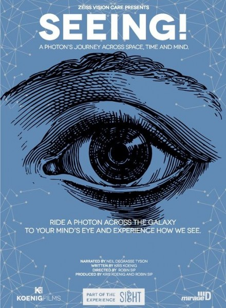 Tickets for SEEING! A photon's journey across space, time and mind, 24.07.2019 um 20:00 at Astronomski centar Rijeka